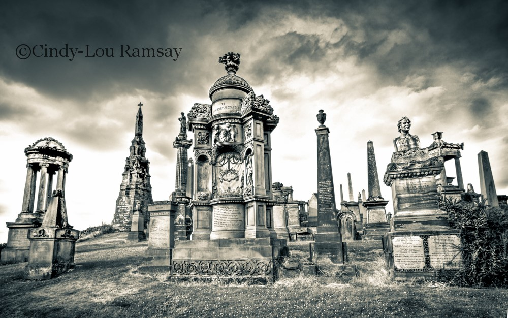 """Ghostly History"" Glasgow Necrpolis"
