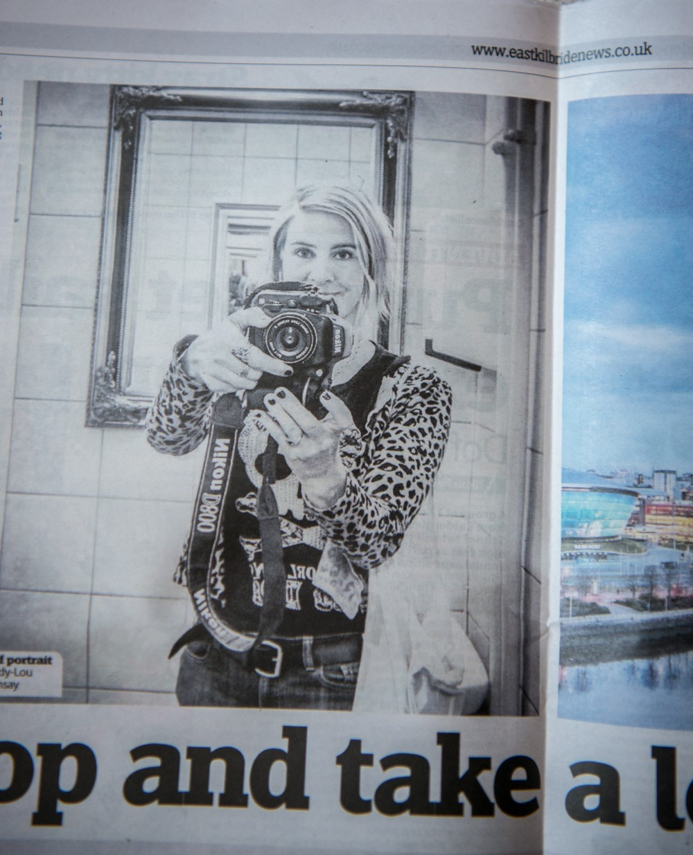 East Kilbride News piece on Cindy Lou Ramsay Photography